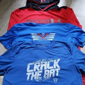 Under armour shirts YXL